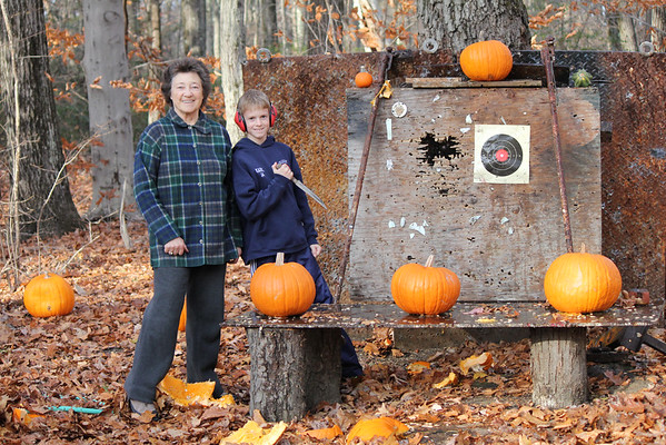 2014 Pumpkin Shooting