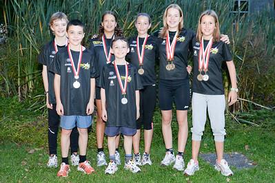 Teambilder Regio Cup mit Medaillen