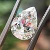 2.01ct Antique Pear Shape Diamond GIA G VS1 35