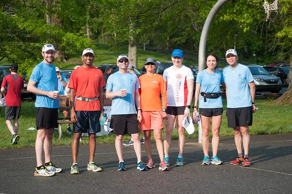 First Time Marathoners