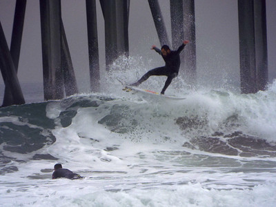 12/3/19 * DAILY SURFING PHOTOS * H.B. PIER * AFTERNOON SESSION