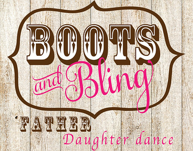 Boots and Bling Father Daughter Dance 2018