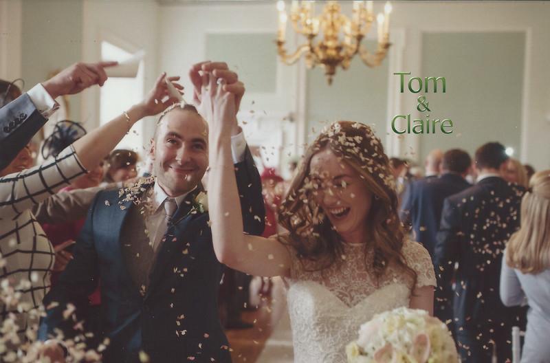Tom & Claire's Wedding