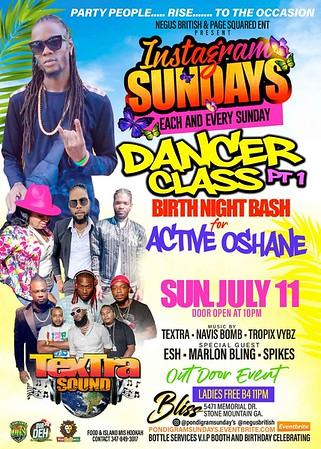 INSTAGRAM SUNDAYS PRESENTS DANCE CLASS PT. 1