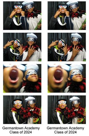 End of Year Party Photo Booth Pictures