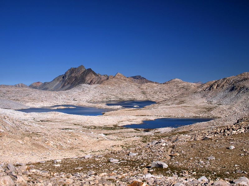 Echo Col Lake Sabrina John Muir Wilderness California