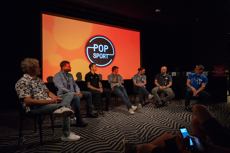 2018_06_29, Amsterdam, Apple, Brian Rothschild, Christian Sonhel, Come Together Amsterdam, Dave Clarke, Fons van den Berg, Larry O'Connor, Melkweg, Names, NL, Pietro Rossi, Popsport, Thomas Lund