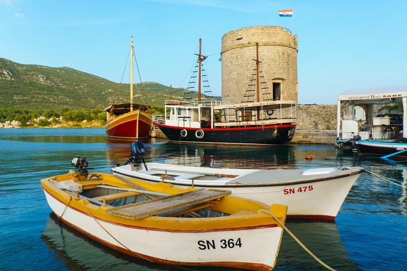Mali Ston: Fishing Boats