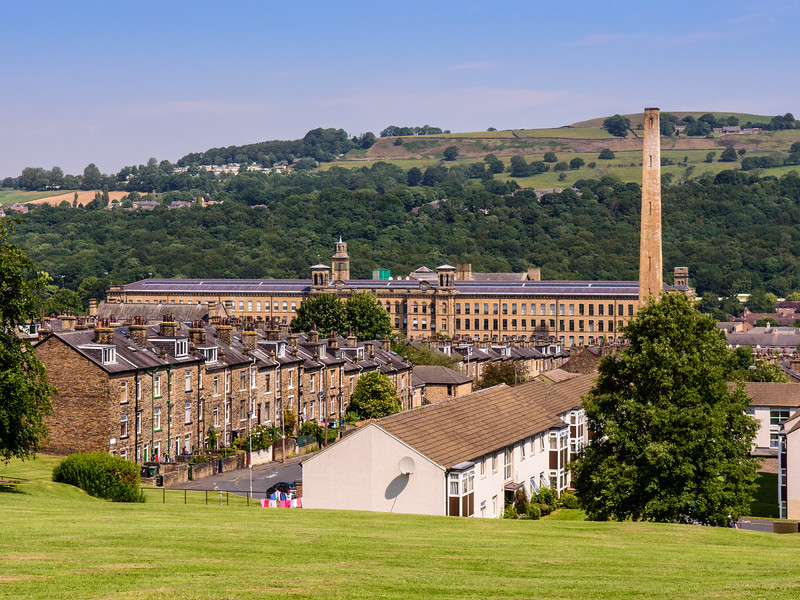 Salt's Mill and Saltaire