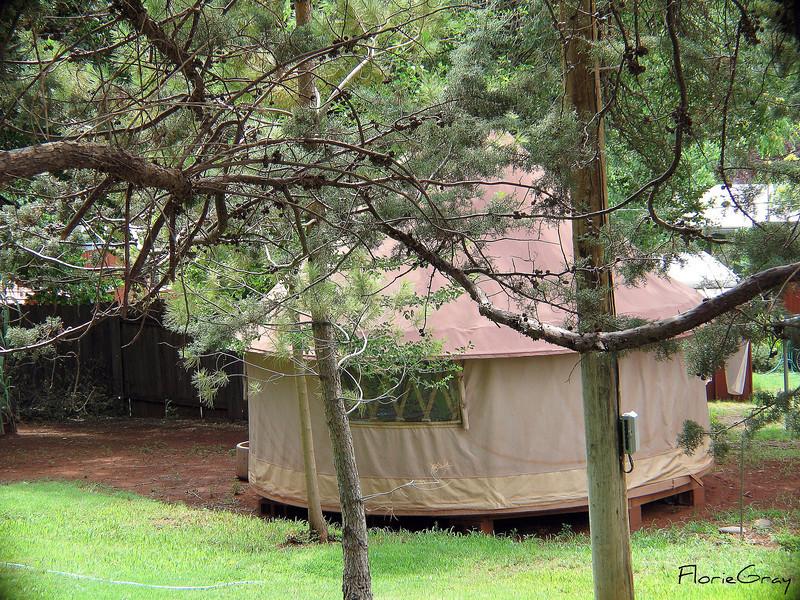 Yurt (?) in Sedona