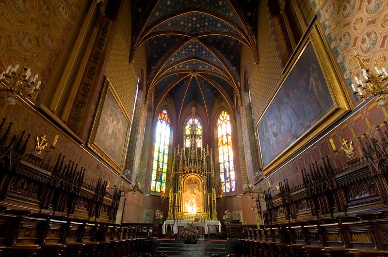 Poland, Cracow, Franciscan Church & Monastery