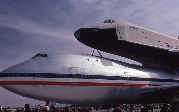 Orbiter Enterprise on Display in Nov 1977