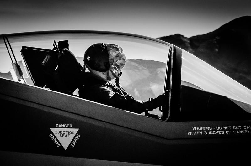F-35 LIghtning Pilot