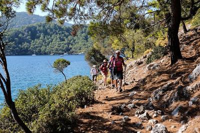 Manastir Bay to Sarsala Bay to Yassica Island