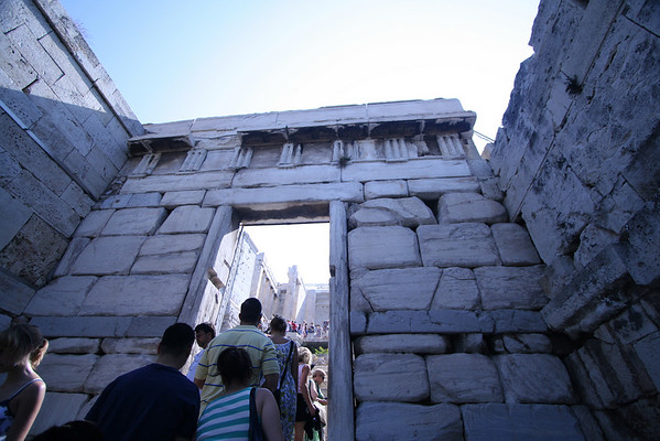 The Acropolis of Athens - 7/7/2009