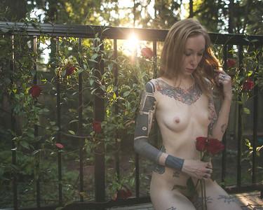 Cheryl in Roses