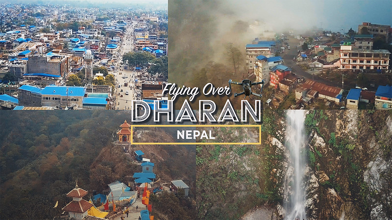Flying Over Dharan