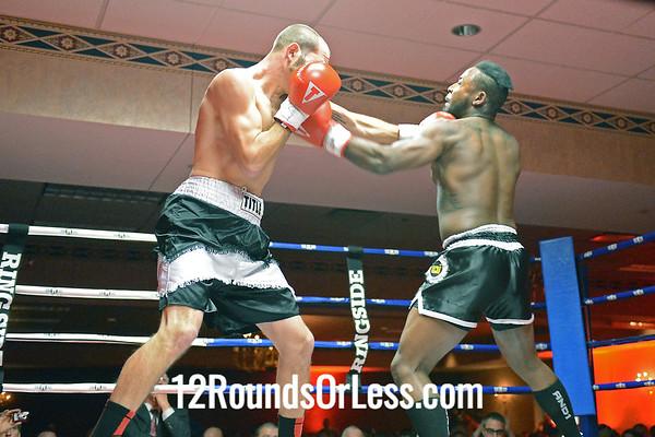 Pro Bout 3 Aaron Quattrocchi, Follanshee -vs- JR Hines, Lexington, KY, 4Rds, Lt. Heavyweight