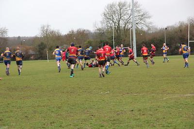 2nd XV Shield Final v Leamington, 030319