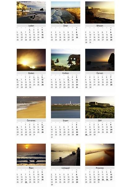 Kalendář Portugalsko 2015 / Portugal 2015 Calendar