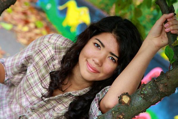 Senior Portraits Gina