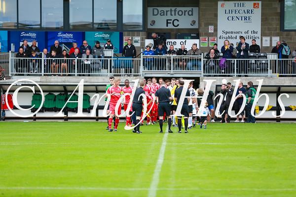 Dartford 1 - 2 Nuneaton Town Sept 2013