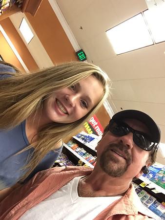 Katie & Dad Selfie
