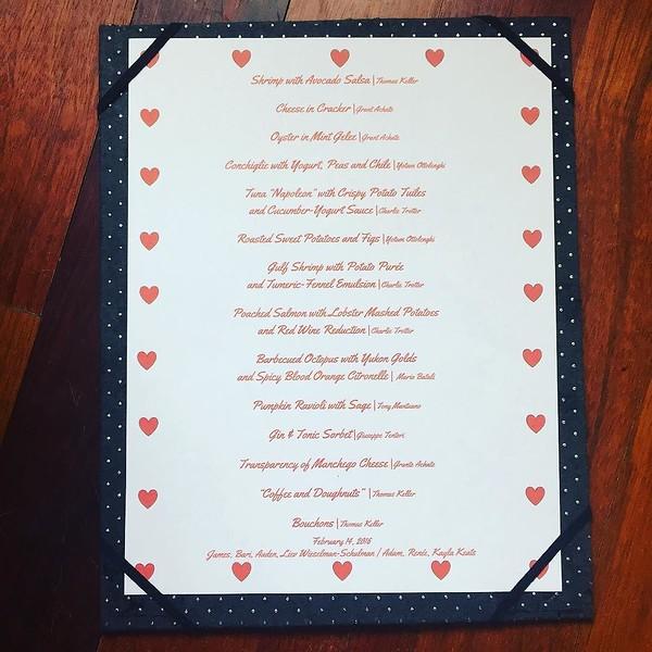 14-course Valentine's Day extravaganza underway in Deerfield!