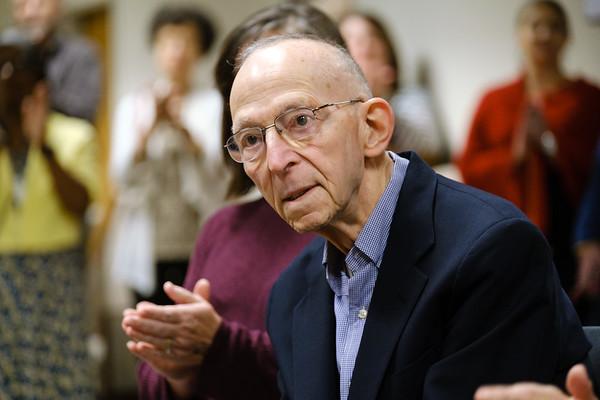 Portrait Unveiling Honoring Dr. Robert Donner