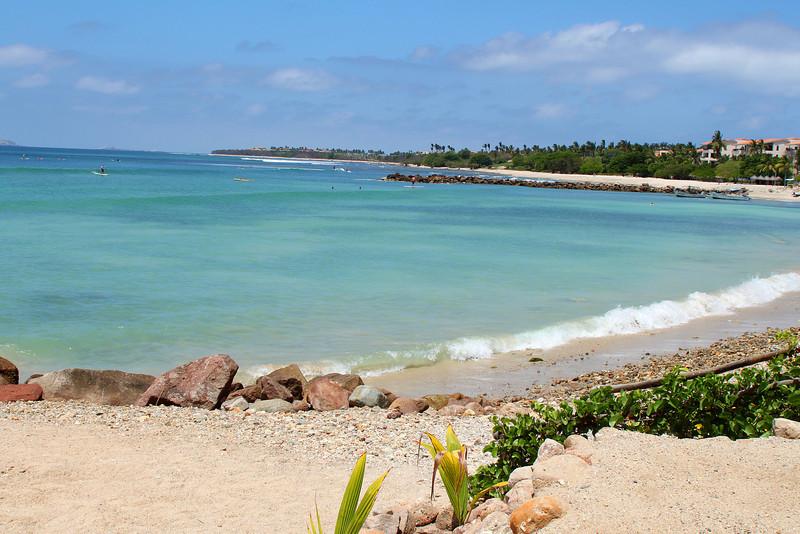 The beach at the village of El Anclote on Punta Mita.