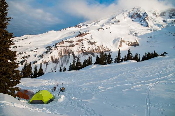 2012-4-14 to 4-15 Rainier Camping