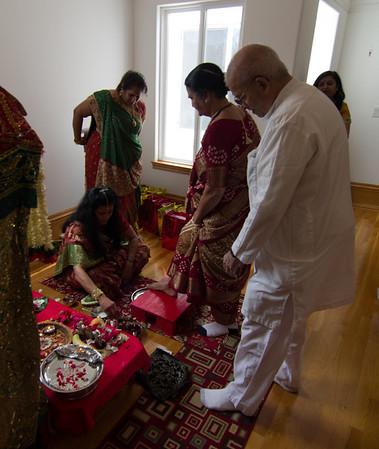 Reenaben's Pooja