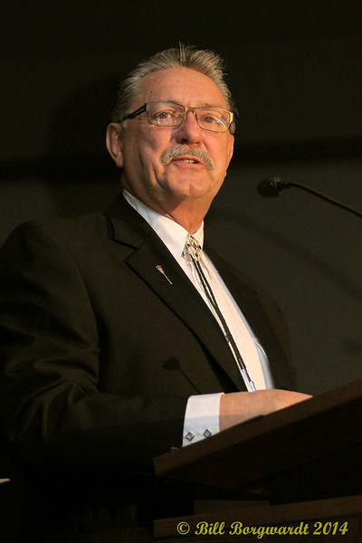 Honourable Gene Zwozdesky - R Harlan Smith induction - 2014 ACMAs