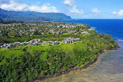 Sea Lodge & Wailua Bay View Aerials by Alohaphotodesign