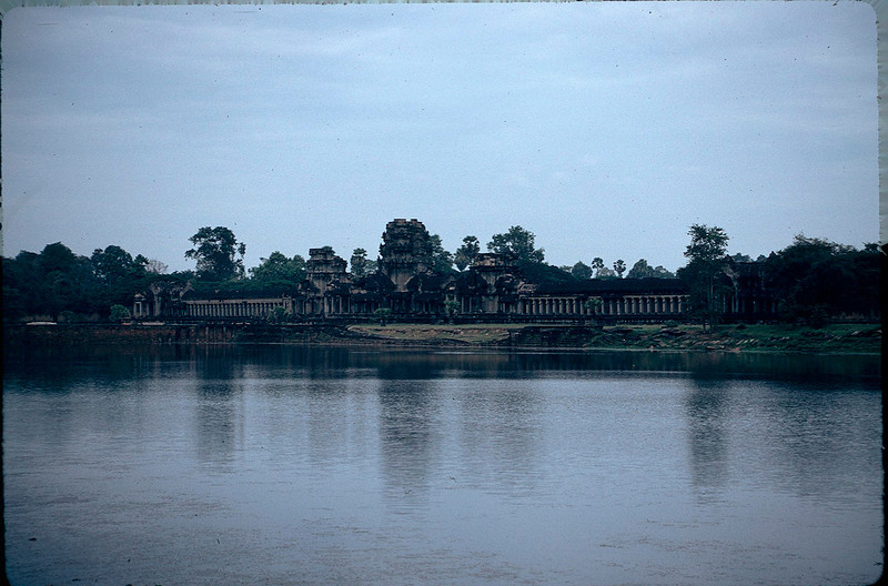 first view of Angkor Wat