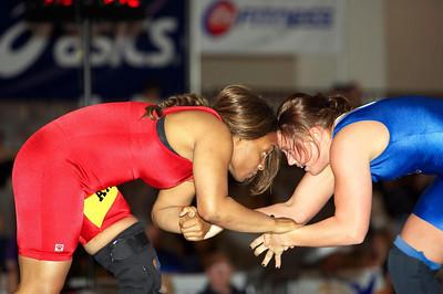 Women's Freestyle Championships 72 Kg Kristie Marano (NYAC) def. Iris Smith (U.S. Army)