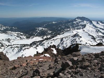 Lassen Peak and the Sulphur Works  - May 28, 2007
