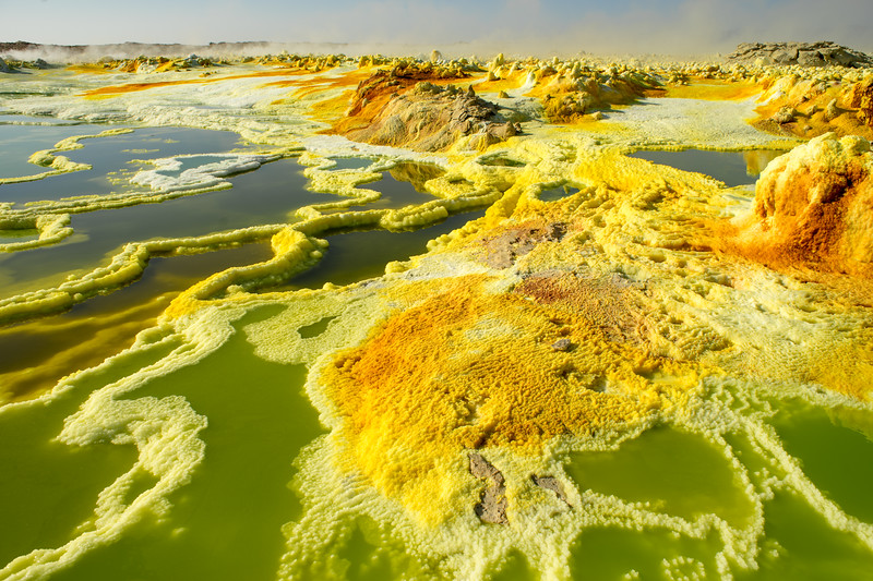 Dallol Sulphur Springs : Danakil Depression