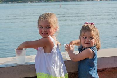 Anita Link Granddaughters 2016 Ice Cream Social