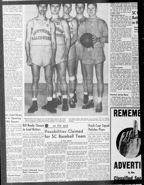 Daily Trojan, Vol. 33, No. 85, January 12, 1942