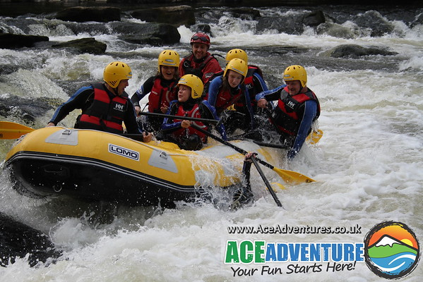 25th August 2013 - PM - River Tay White Water Rafting