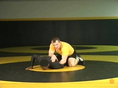 Correct way to pull arm behind back