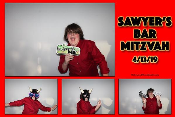 Sawyer's Bar Mitzvah - 4/13/2019