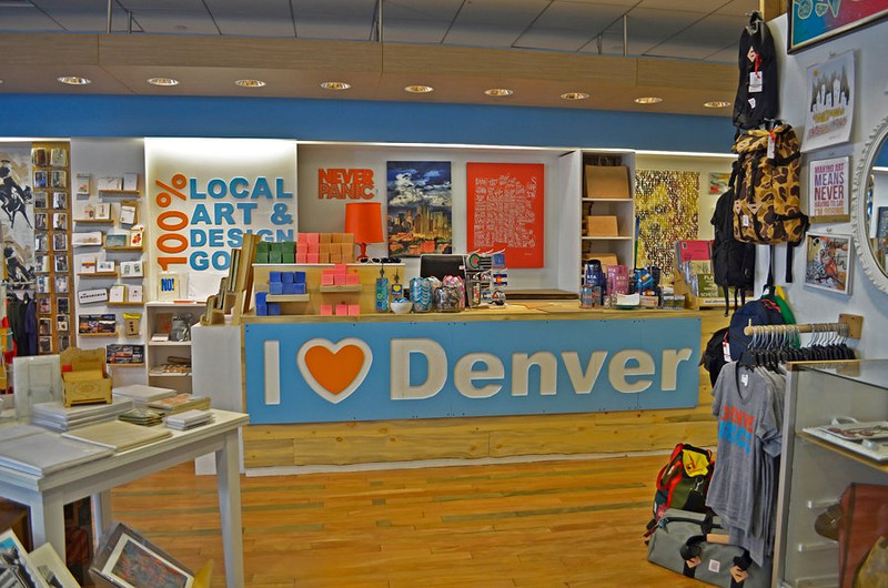 Denver  I Heart Denver Store (Interior)  Level 2 of Denver Pavilions 500 16th Street, Denver CO 80202