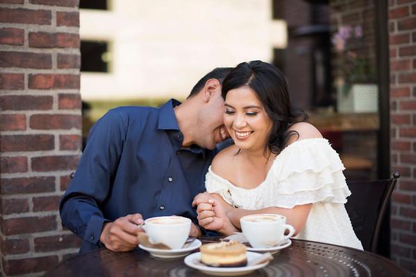 Cristina & Victor DTLA Engagement Session!