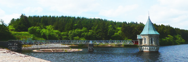 Pontsticill Reservoir,Wales~0037-1w.