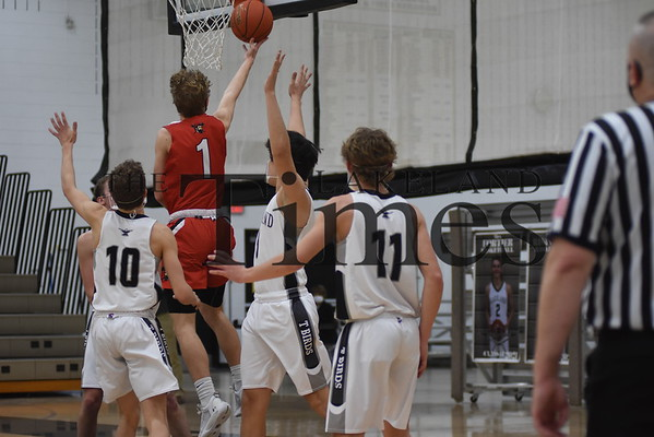 LUHS Boys' Basketball vs. Wausau East January 11, 2021