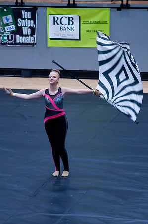 Catoosa Winter Guard Competition 03-09-2019
