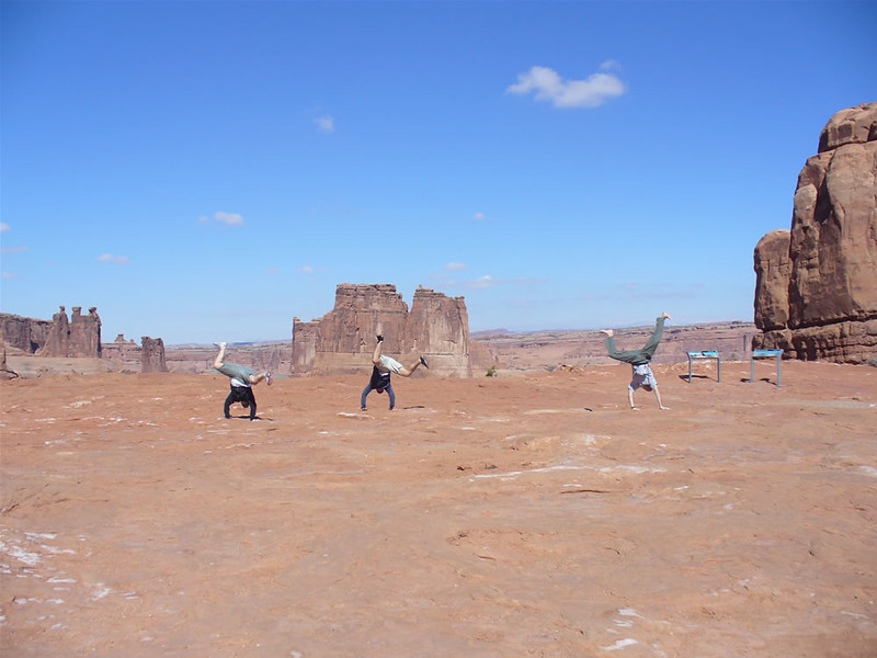 Ameli Hufford - Courthouse Towers Viewpoint, Arches National Park, Utah