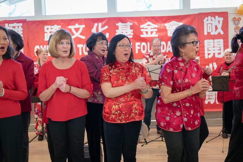 Chia-Chia Chien organized Danville Chinese New Year Celebration at Danville Community Center